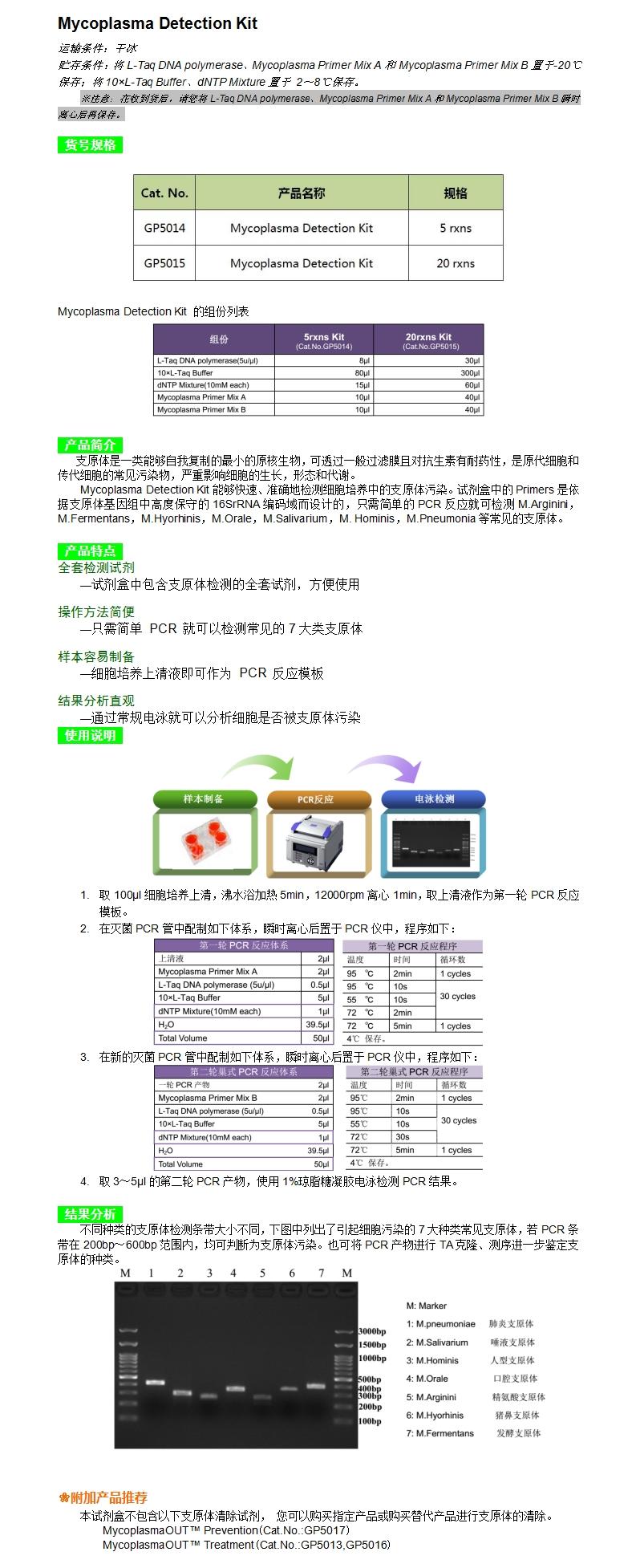 GP5014GP5015 Mycoplasma Detection Kit支原体检测试剂盒.jpg